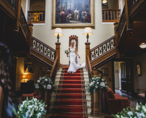 Grand Staircase at The Heath House