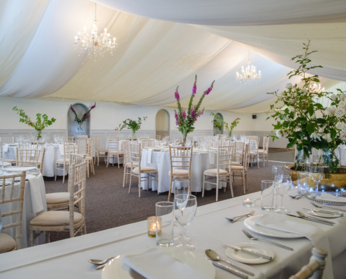 English Marquee Wedding